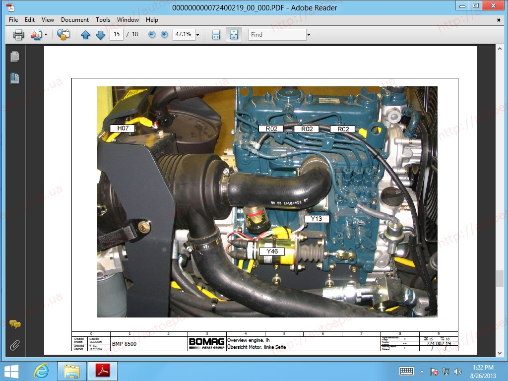 <b>Bomag 2014</b><br>Parts catalog and documantation for Bomag equipment
